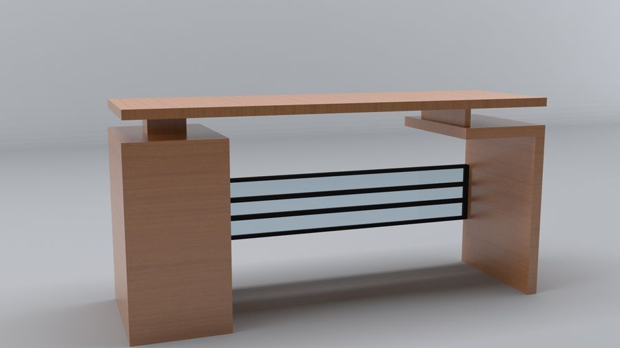 Desk Collection royalty-free 3d model - Preview no. 2