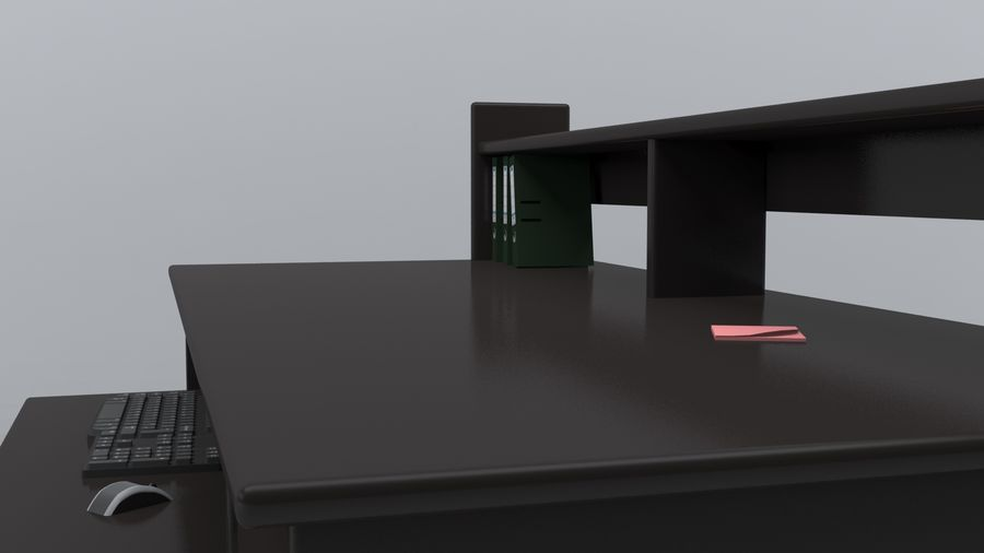 Desk Collection royalty-free 3d model - Preview no. 23