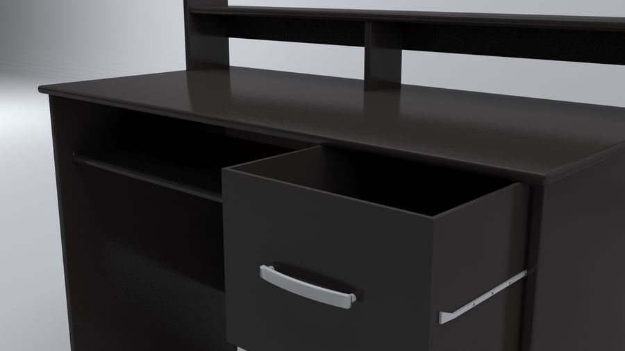 Desk Collection royalty-free 3d model - Preview no. 20