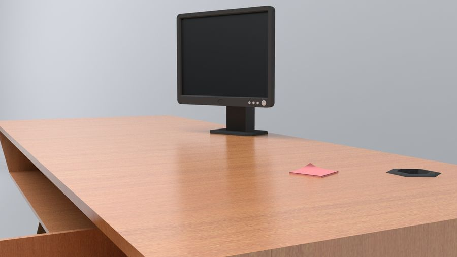 Desk Collection royalty-free 3d model - Preview no. 14