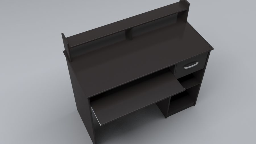 Desk Collection royalty-free 3d model - Preview no. 21