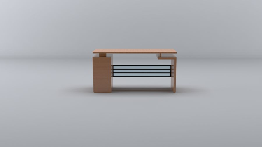 Desk Collection royalty-free 3d model - Preview no. 4