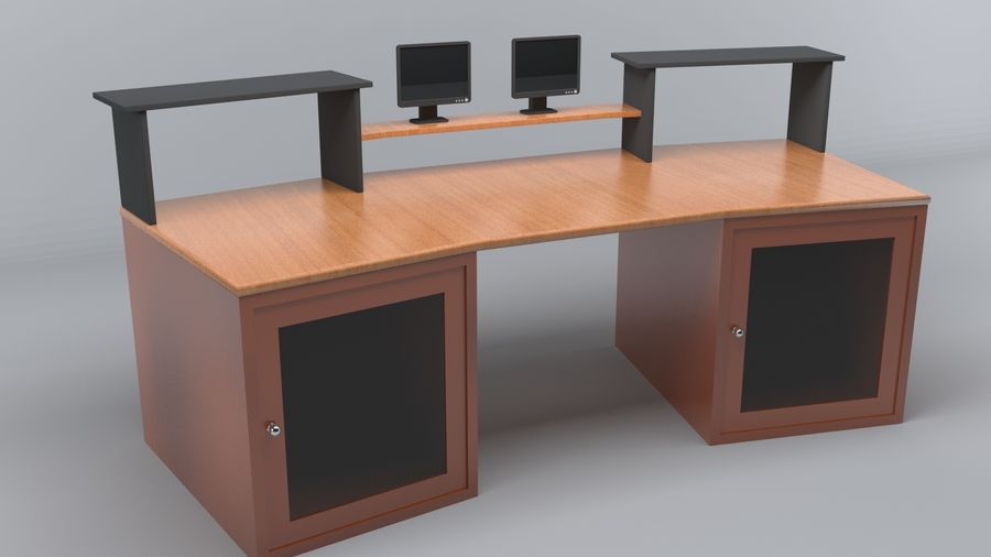 Desk Collection royalty-free 3d model - Preview no. 24