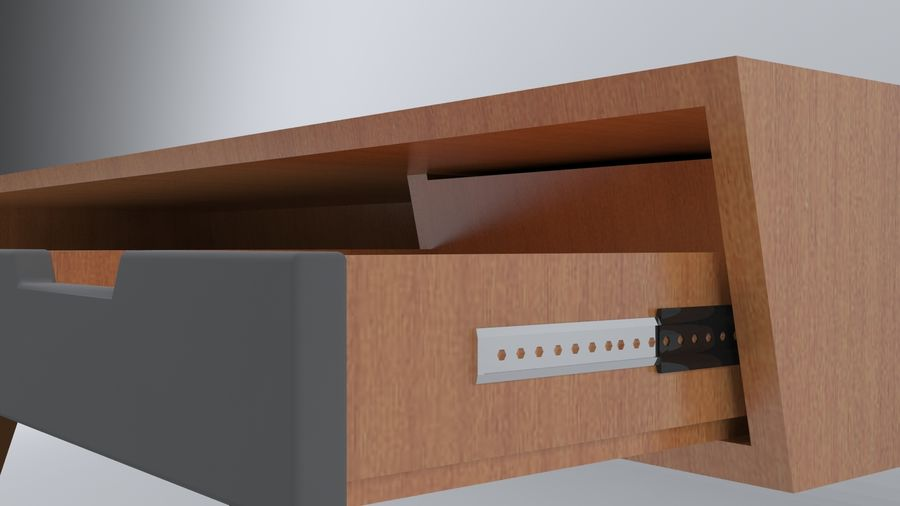 Desk Collection royalty-free 3d model - Preview no. 13