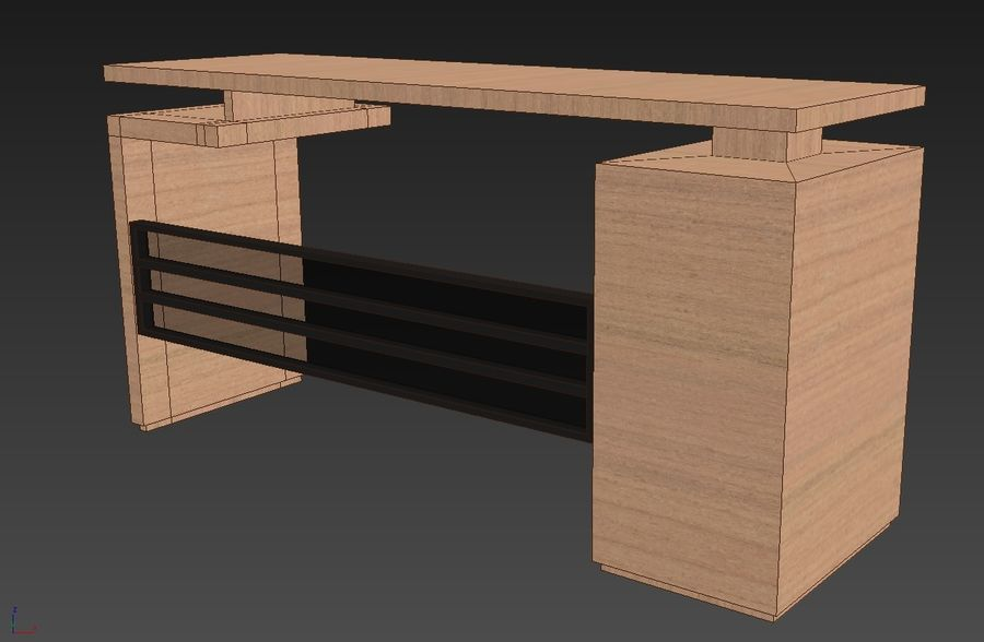 Desk Collection royalty-free 3d model - Preview no. 6