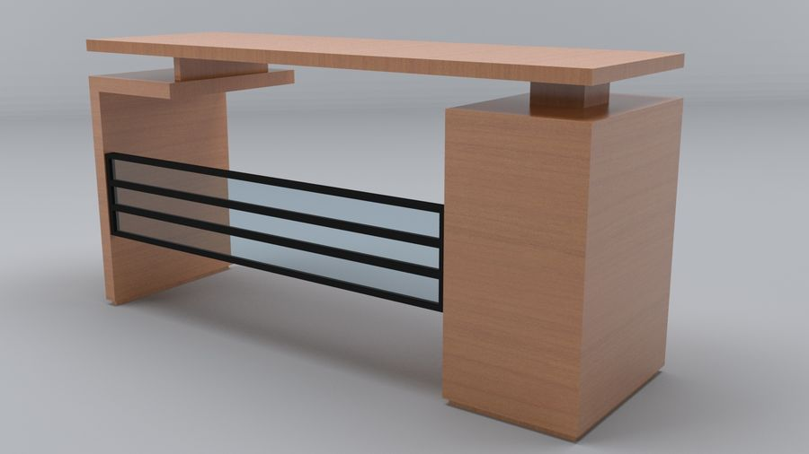 Desk Collection royalty-free 3d model - Preview no. 5