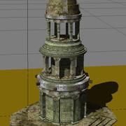 Oude toren 3d model