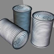 Tin Can 3D 모델 3d model