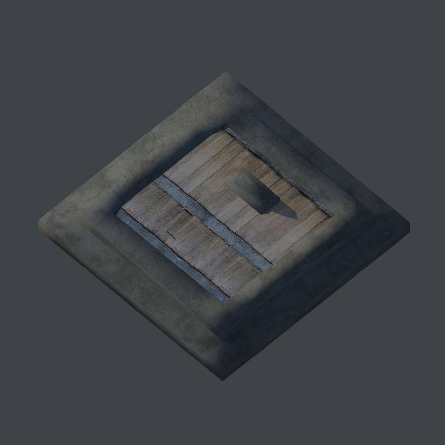 模块化城堡 royalty-free 3d model - Preview no. 3