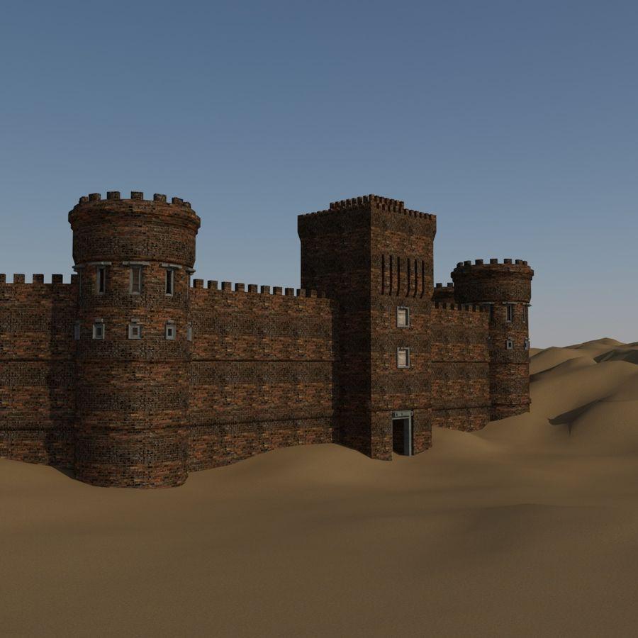 模块化城堡 royalty-free 3d model - Preview no. 1