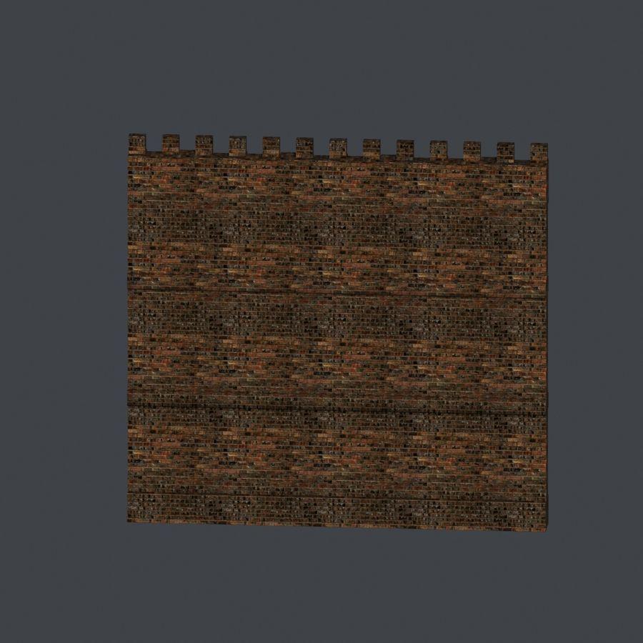 模块化城堡 royalty-free 3d model - Preview no. 5