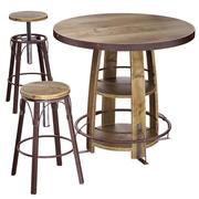Zestaw stolików do pubów Bayshore 3d model