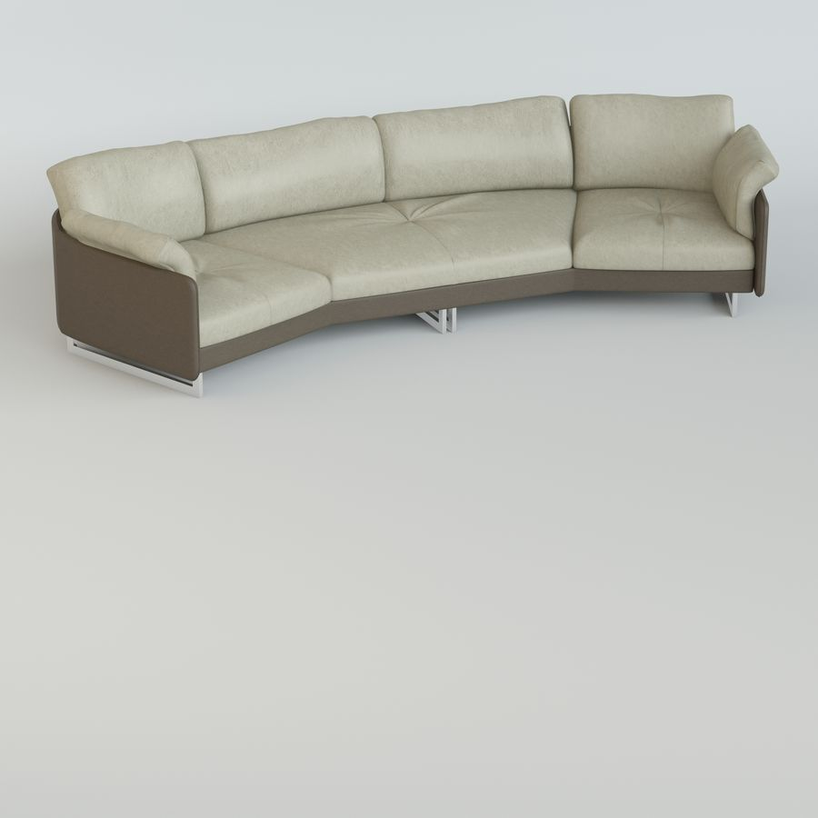 Sofa Swing royalty-free 3d model - Preview no. 2