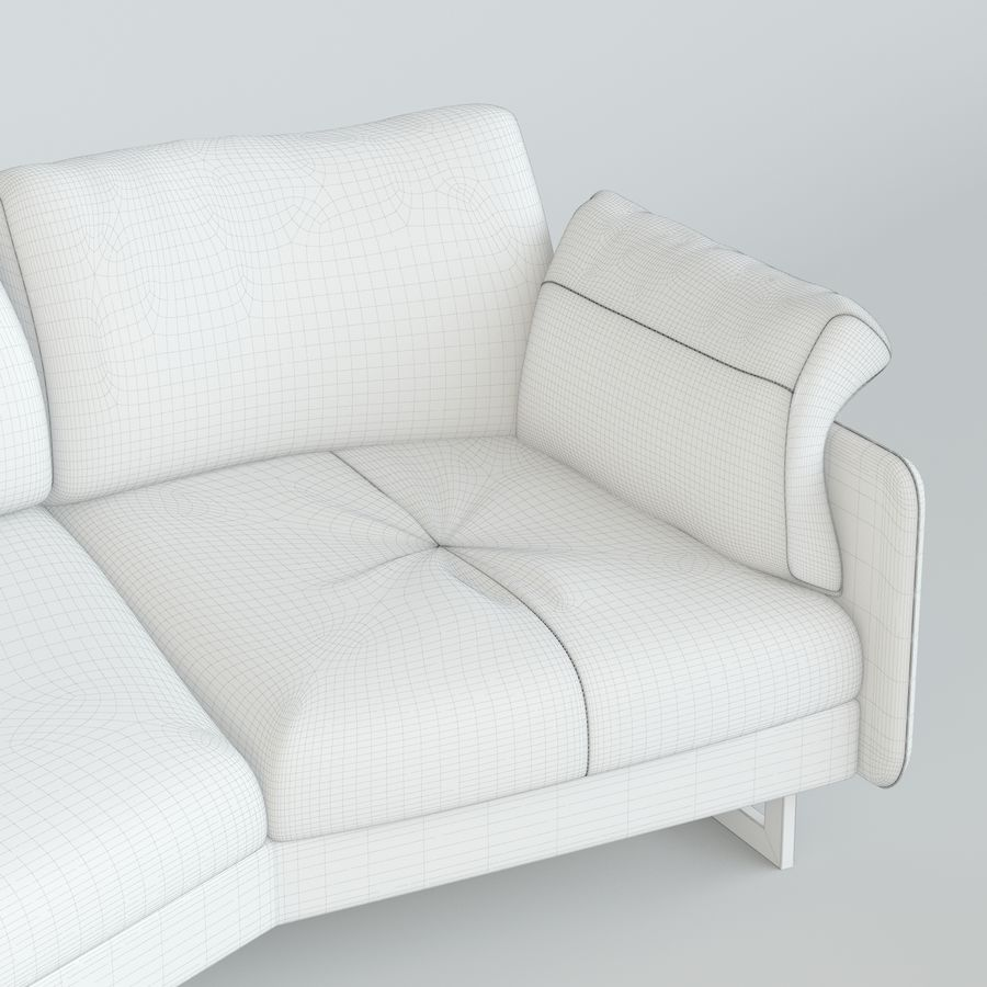 Sofa Swing royalty-free 3d model - Preview no. 4