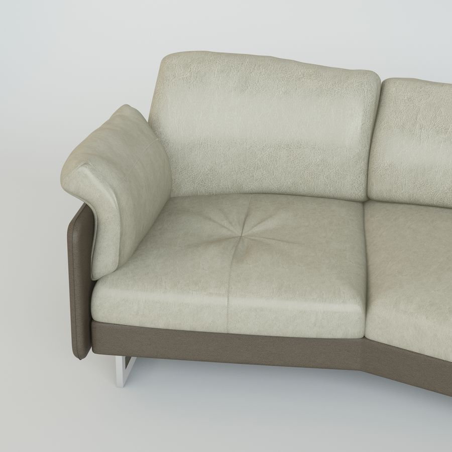 Sofa Swing royalty-free 3d model - Preview no. 3
