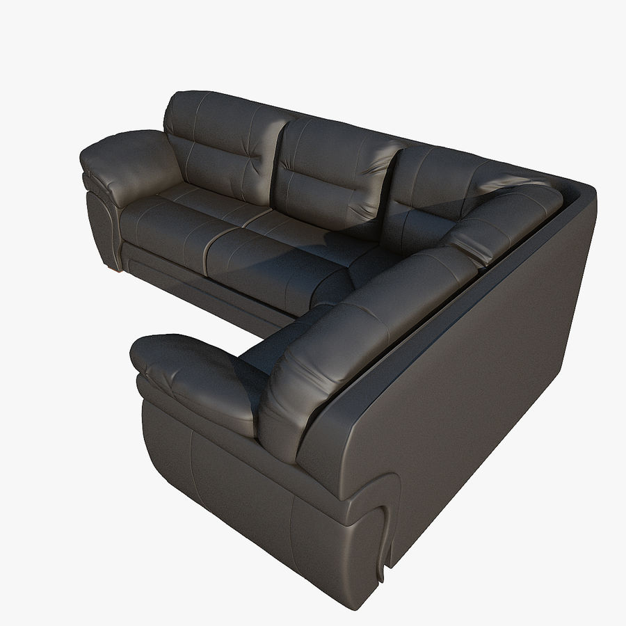 Sofa narożna Bristol royalty-free 3d model - Preview no. 5