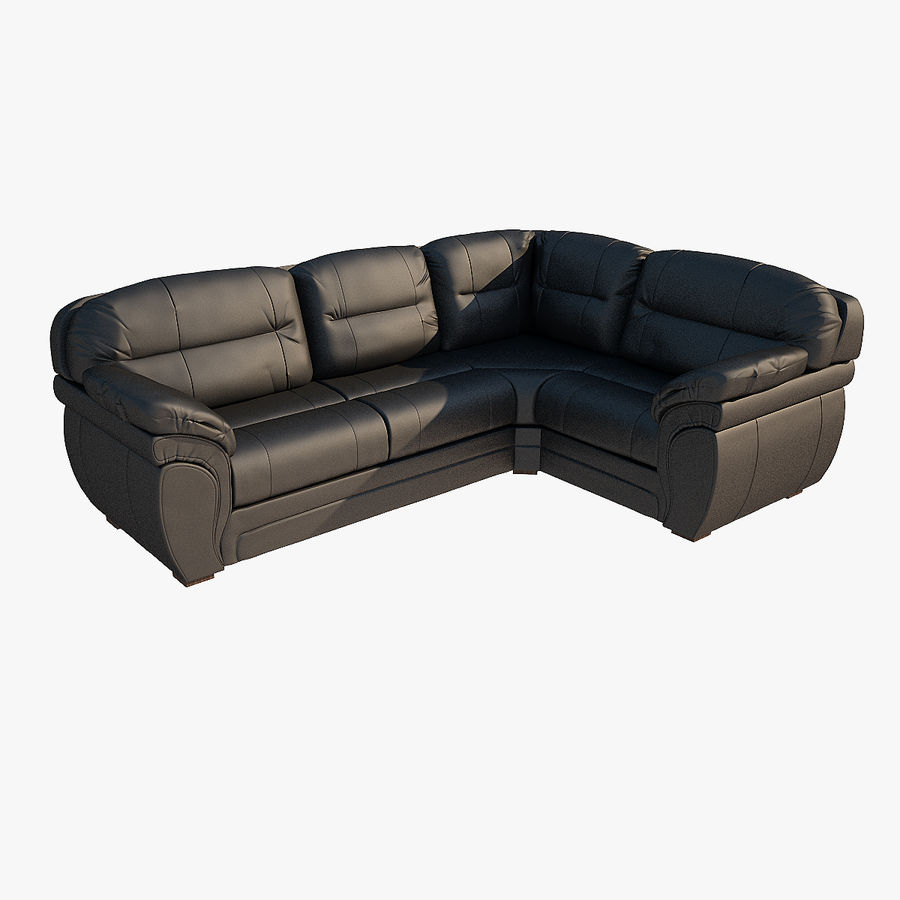 Sofa narożna Bristol royalty-free 3d model - Preview no. 1