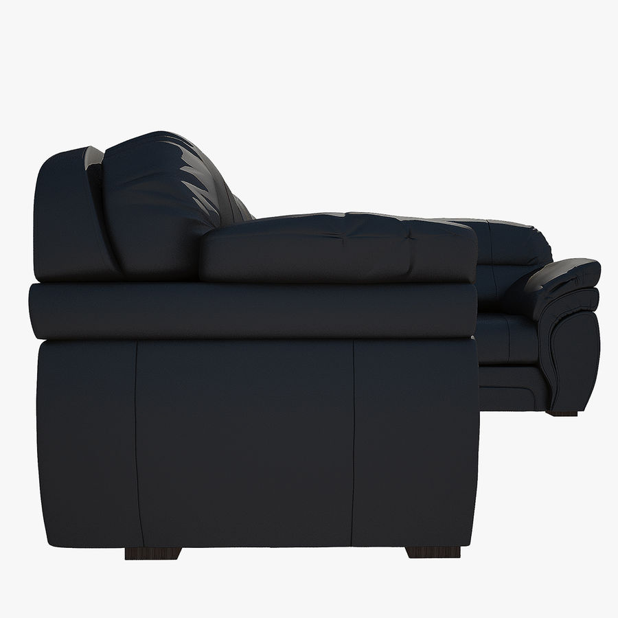 Sofa narożna Bristol royalty-free 3d model - Preview no. 4