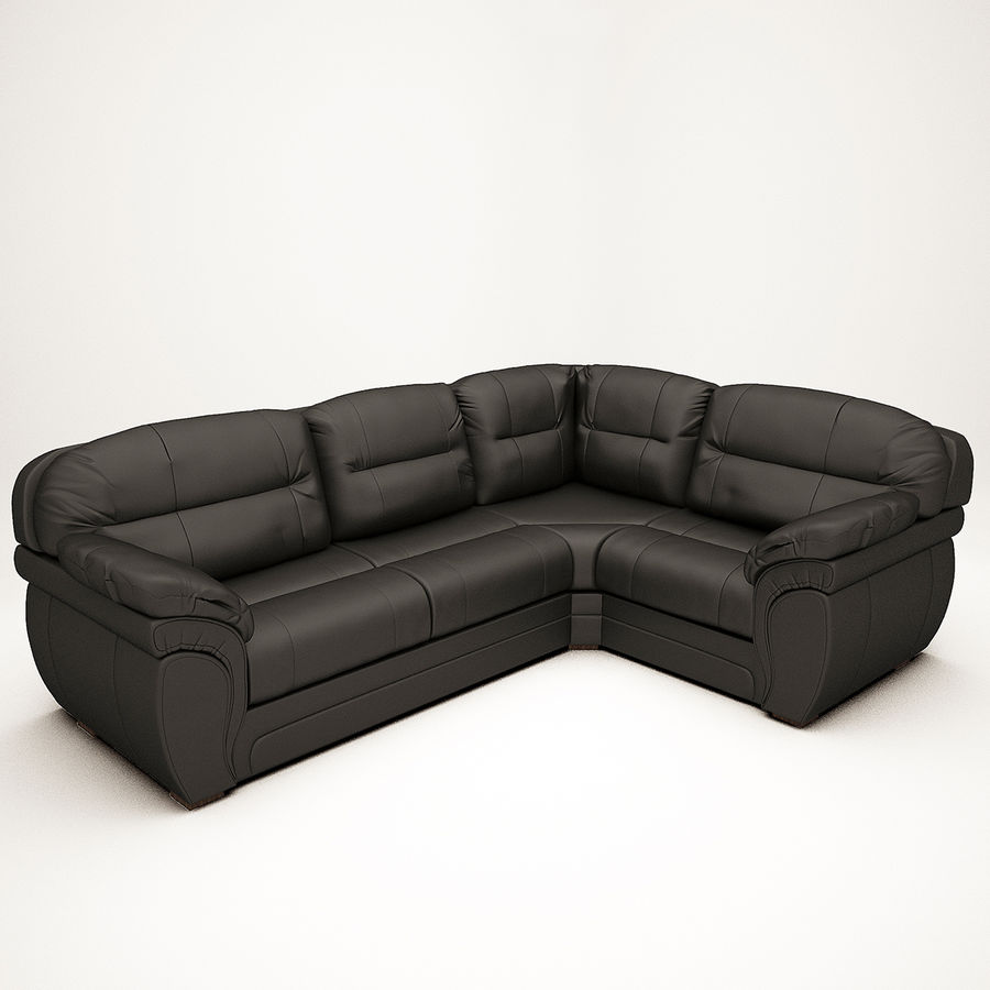 Sofa narożna Bristol royalty-free 3d model - Preview no. 2