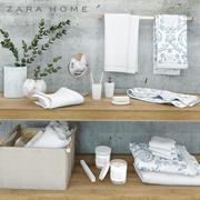 Acessórios do banheiro ZARA HOME 3d model