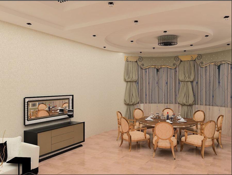 interior design royalty-free 3d model - Preview no. 2