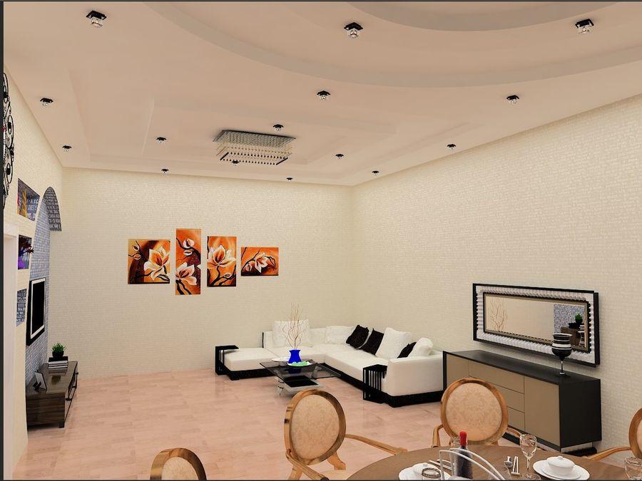 interior design royalty-free 3d model - Preview no. 5