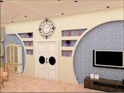 inredningsdesign 3d model
