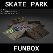 Skate Park Funbox 3d model