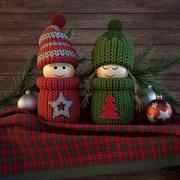 Christmas dolls 3d model