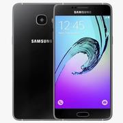 Samsung Galaxy A5 (2016) Svart 3d model