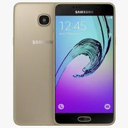 Samsung Galaxy A5 (2016) Guld 3d model