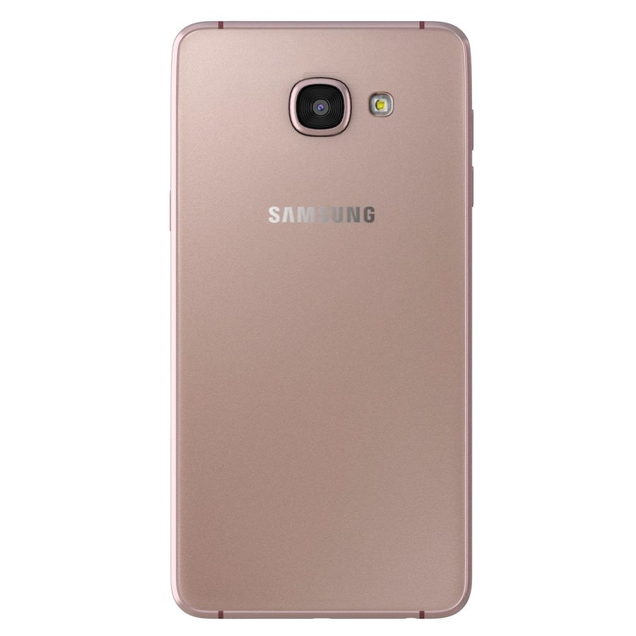 Samsung Galaxy A5 (2016) rosa royalty-free 3d model - Preview no. 6