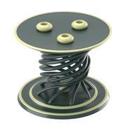 Dekoratif mum masası 3d model