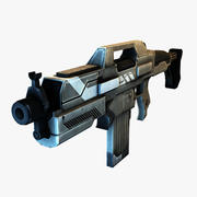 Fusil de combat FPS 3d model
