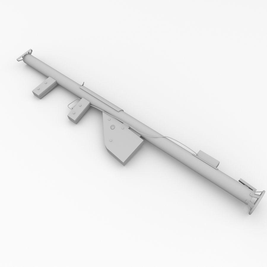 M1 Bazooka royalty-free 3d model - Preview no. 4