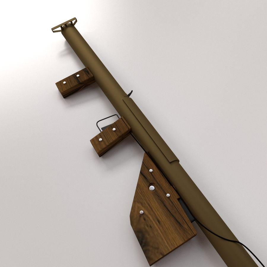 M1 Bazooka royalty-free 3d model - Preview no. 3
