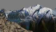 Mont blanc 3d model