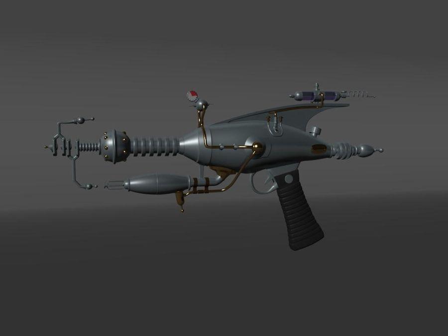 射线枪 royalty-free 3d model - Preview no. 1