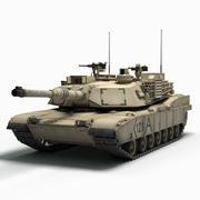 M1A2エイブラムス 3d model