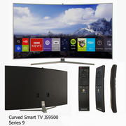SUHD 4K Curved Smart TV JS9500 Series 9 3d model