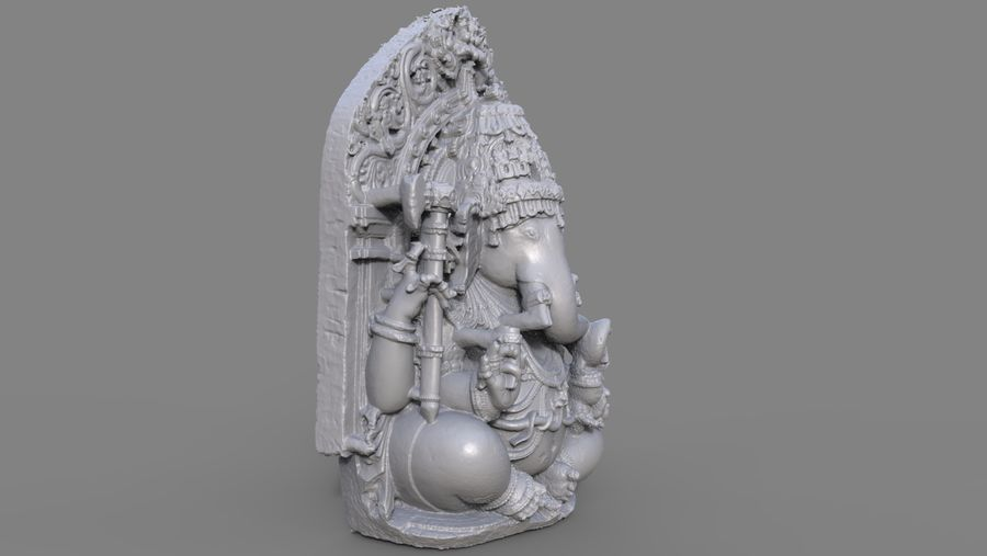 Ganesha royalty-free 3d model - Preview no. 10
