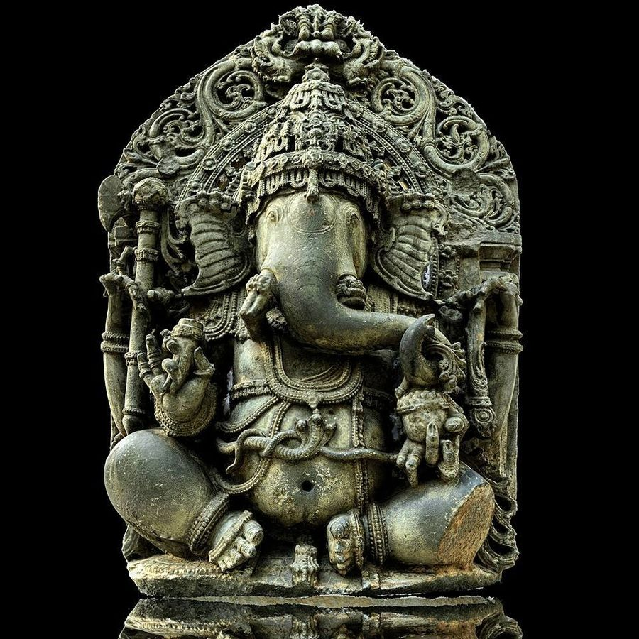 Ganesha royalty-free 3d model - Preview no. 1