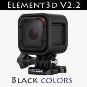 GoPro Hero4-session E3D V2.2 3d model