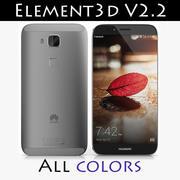 华为G8 Element3D V2.2 3d model