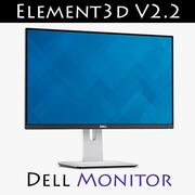 Dell U2414H Element3D V2.2 3d model