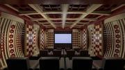 Modern Home Theater 3d model