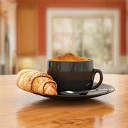 Coffee_and_Croissant 3d model