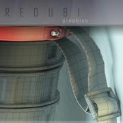Tube de dessin 3d model