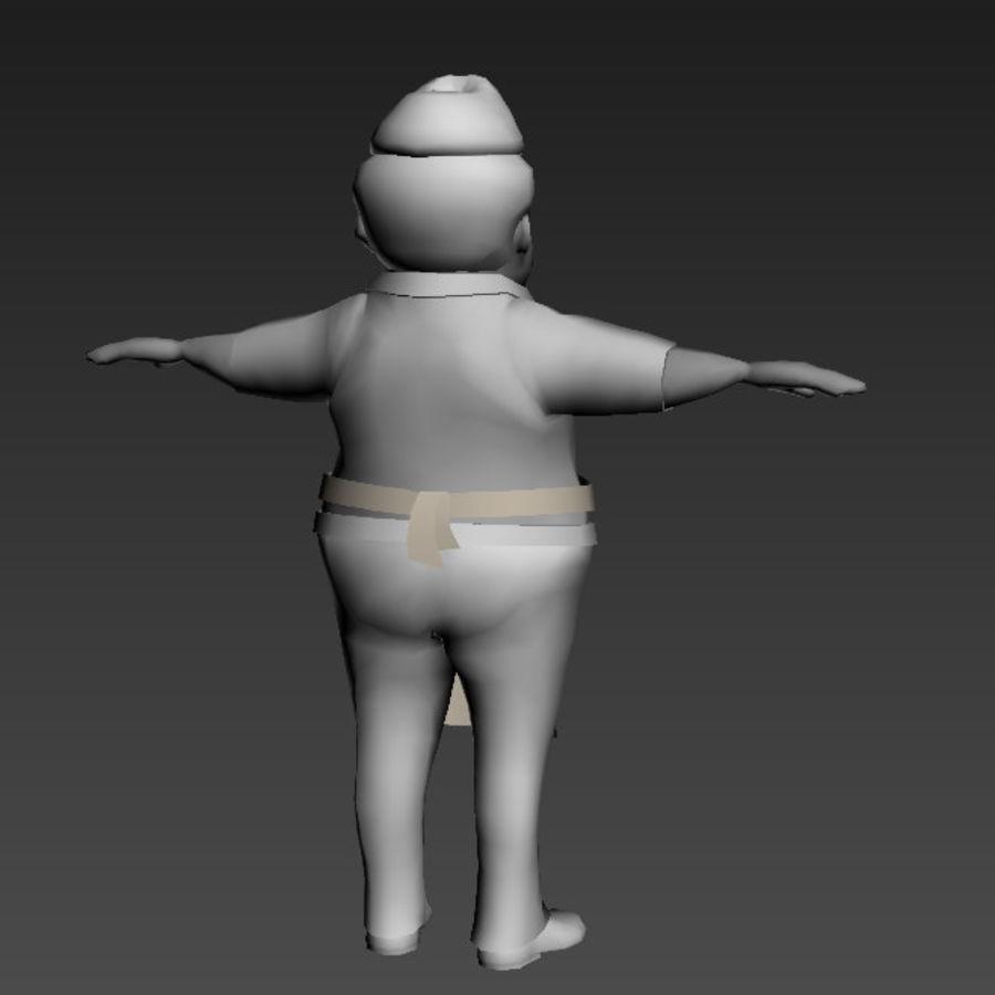 Низкополигональные персонажи royalty-free 3d model - Preview no. 9