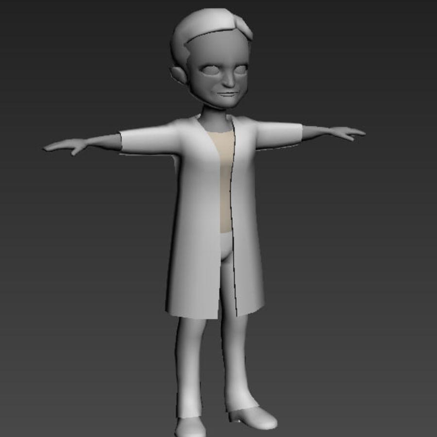 Низкополигональные персонажи royalty-free 3d model - Preview no. 5